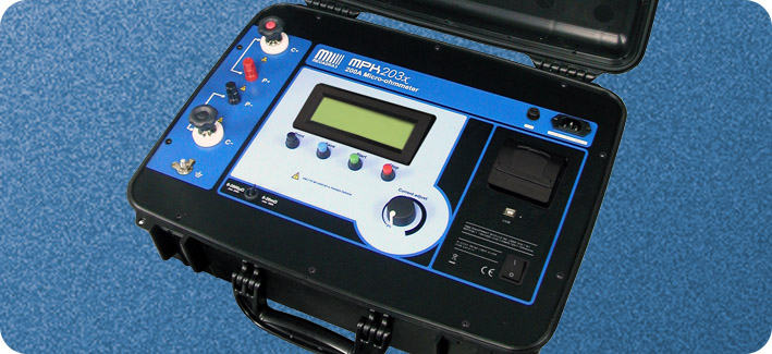 High current smart micro-ohmmeter