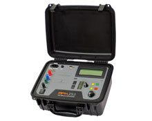 Portable digital micro-ohmmeter up to 200 A